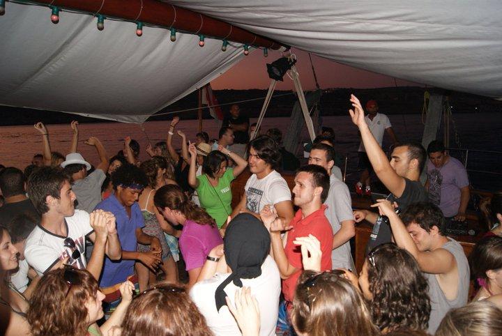 몰타에서 가장 흥미진진한 경험으로 꼽히는 보드파티 현장. (사진제공=몰타 챔버컬리지Chamber College)