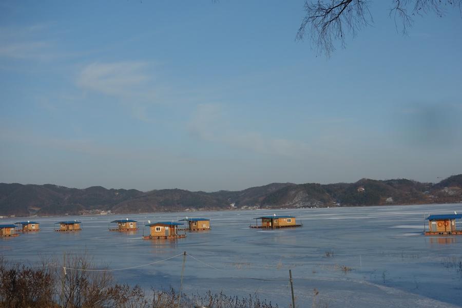 햣설좋은 오후의 예당호수