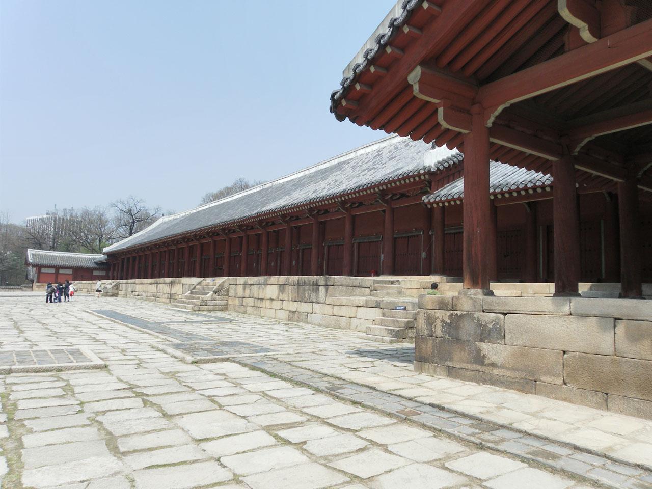 종묘. 서울시 종로구 훈정동에 있다.