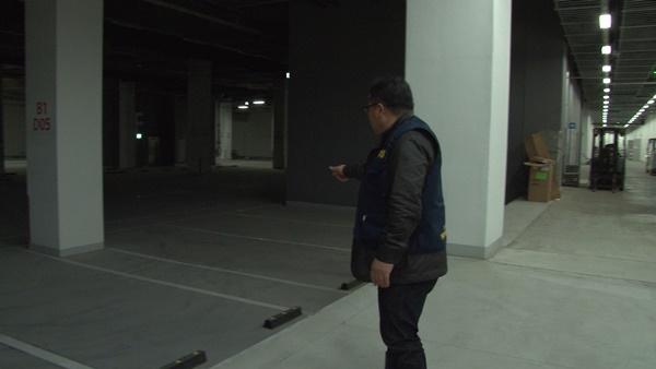 활어보관장 전용 주차장 (사진 : 칼라TV)