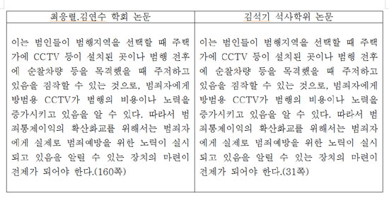 김석기 후보 표절(3)