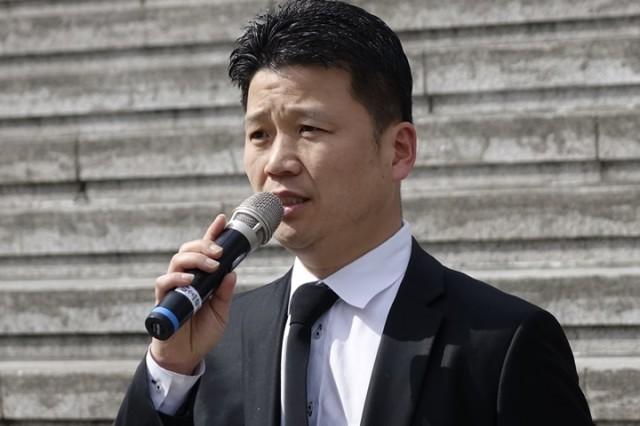 신우용 서울환경연합 활동국장 발언중인 신우용 서울환경연합 활동국장