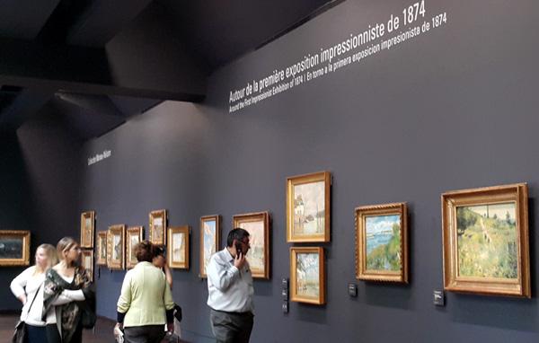 베르트 모리조는 1874년 열린 최초의 인상주의 전시회에 작품을 전시한 유일한 여성화가이다. 오르세 미술관.