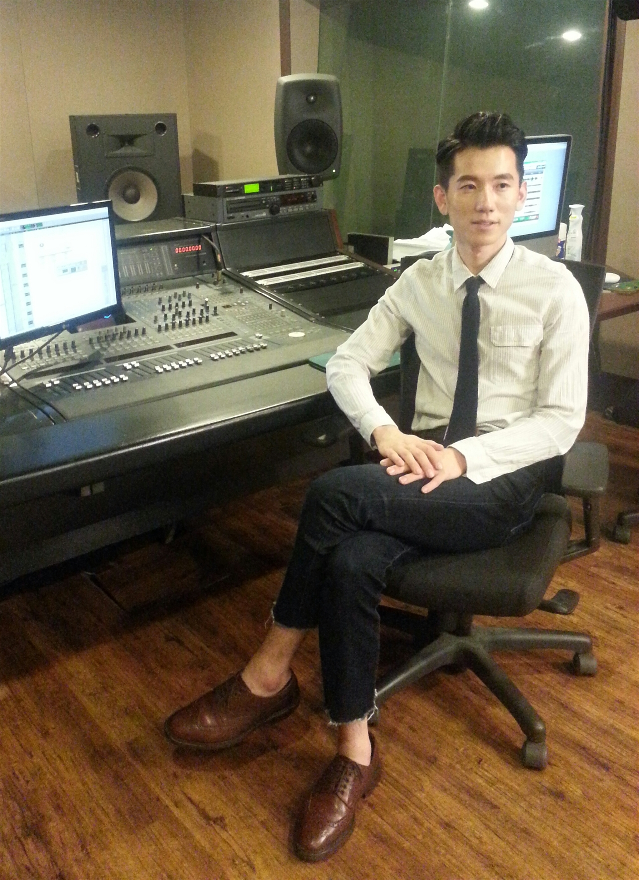 작곡가 임성용 뉴에이지 피아노 연주곡을 계속 발매하고 싶다고 하는 임성용. 뉴에이지 뿐 아니라 가요곡도 가수들에게 주고 싶다고 말했다.