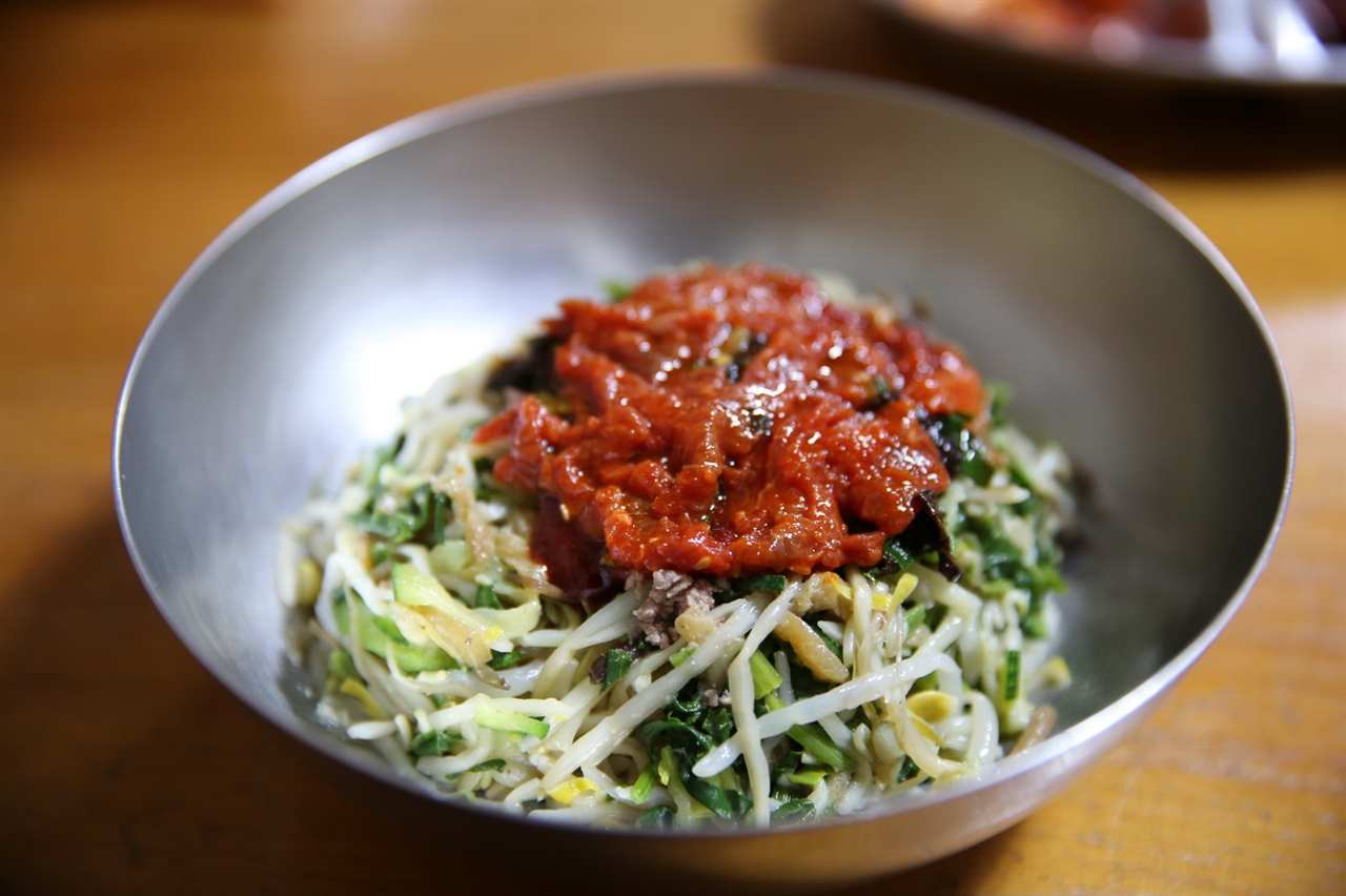 비빔밥 육회비빔밥