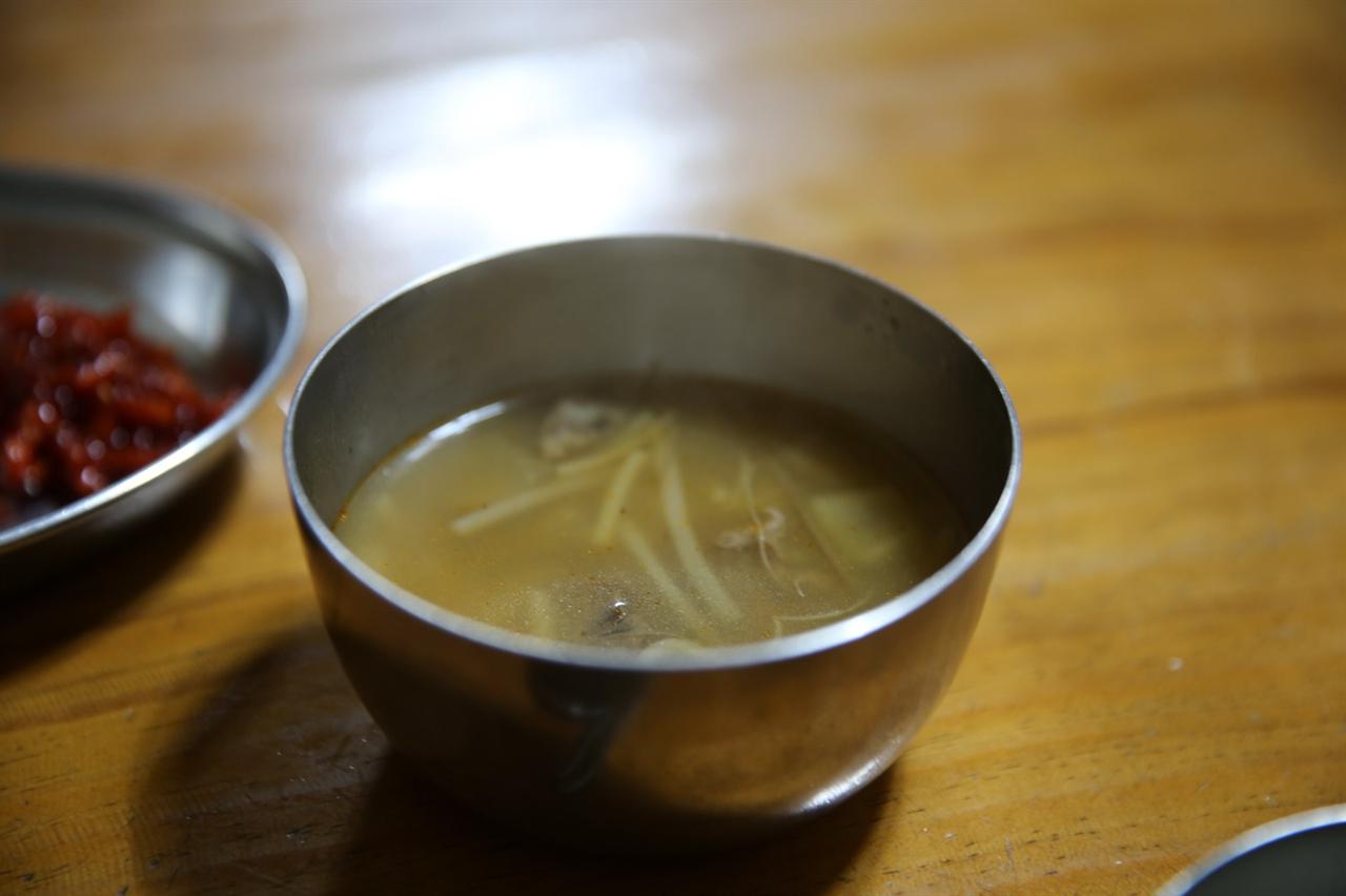 해장국 비빔밥과 잘 어울리는 궁합