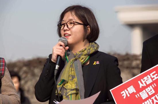 노동당 용혜인 청년비례대표후보.