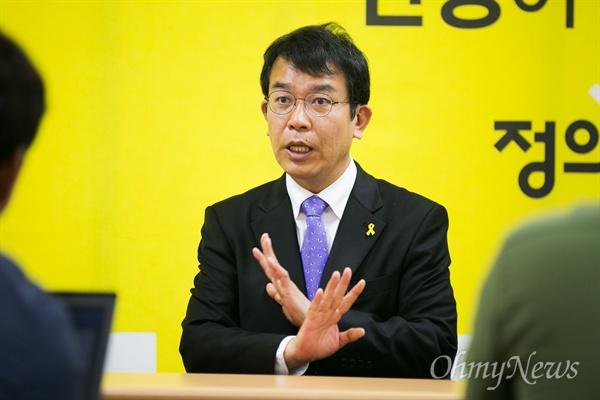 제 20대 총선 정의당 김종대 비례대표 당선자.