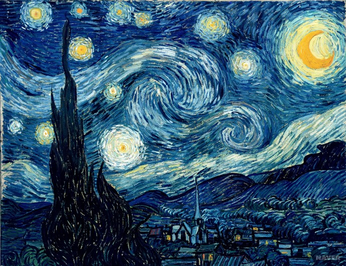 빈센트 반 고흐의 별이 빛나는 밤(The Starry Night)은 월트 휘트먼의 시 <나 자신의 노래(Song of Myself)>에서 영감을 받았다고 알려져 있고, 돈 맥클린은 '빈센트(Vincent)'라는 곡에서 고흐와 그의 그림을 노래했다. 이는 최초 작품에서 영감을 받고 만들어진 독립 저작물의 대표적인 사례이다.