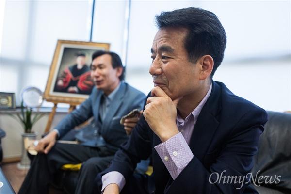 5.18 당시 교사였던 5.18민주화운동유공자 이상호씨.