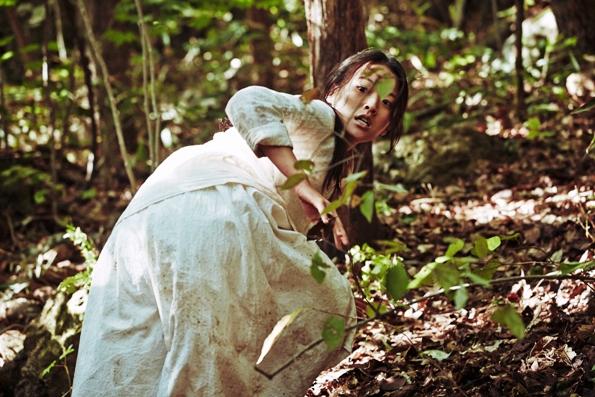 <곡성>의 한 장면. 배우 천우희는 다시 한 번 '정점을 짐작키 어려운 연기'를 선보인다.