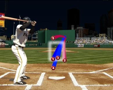 1회 강정호 vs 메디슨 범가너  (출처: MLB.com 게임데이)