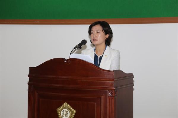 홍춘희 안양시의원(더민주) 기자회견