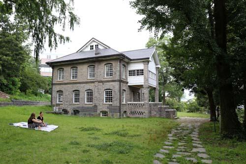 광주 양림동에 있는 선교사 윌슨 사택. 광주에서 가장 오래된 서양식 주택이다.