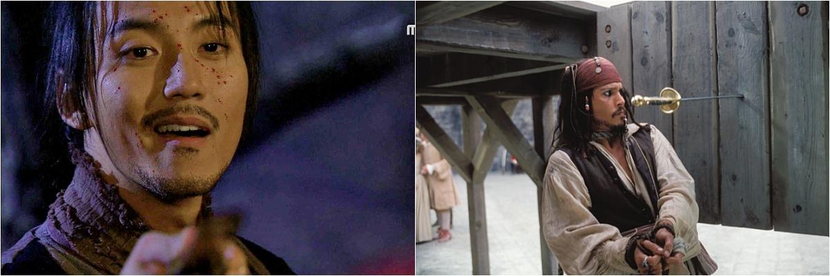 MBC 드라마 <선덕여왕>의 비담 김남길과 <캐러비안의 해적> 잭 스래로우 조니뎁 김남길과 조니뎁이 심각한 상황에서도 개그 본능을 숨기지 못하는 것은 모두 쌍둥이자리의 영향이다.
