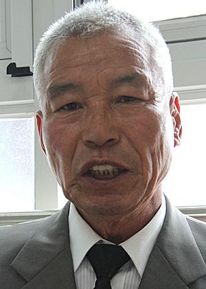 이훤 씨(68)씨. 그의 부친은 1950년  국군에 폭행 당한 후 경찰의 손에 목숨을 잃었다.