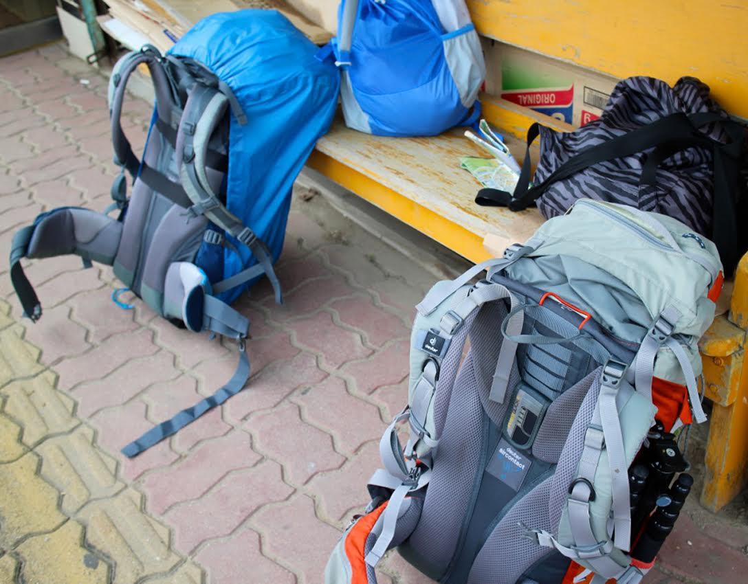 나의 짐이자 집이자 웬수이자 모든 것이 될, 여행 가방.