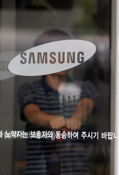 이건희 회장 동영상 파문 이건희 삼성 회장의 과거 성매매 의혹이 담긴 동영상이 공개돼 파장이 일고 있다. 사진은 22일 오후 서울 서초구 삼성 사옥.