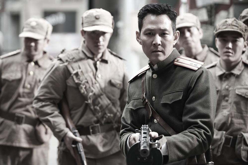 영화 <인천상륙작전>의 한 장면.