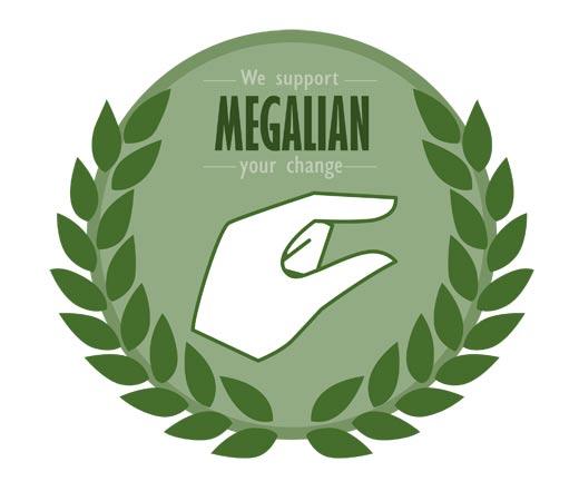 메갈리아 아이콘. 메갈리아는 혐오의 상징처럼 여겨지고 있다.