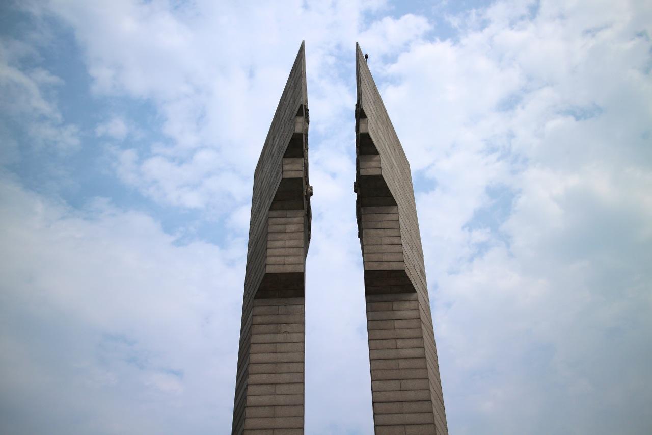 백마고지 전투 기념비