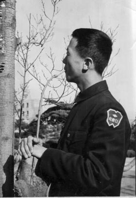 102학훈단 시절의 필자(1968. 3.)