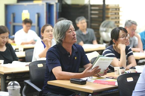 참석자들 <대한민국 교육혁명> 출판기념 북콘서트 참석자들 표정