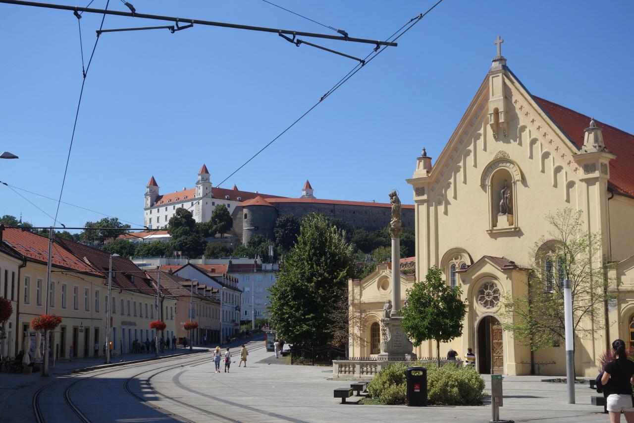 슬로바키아 수도 브라티슬라바