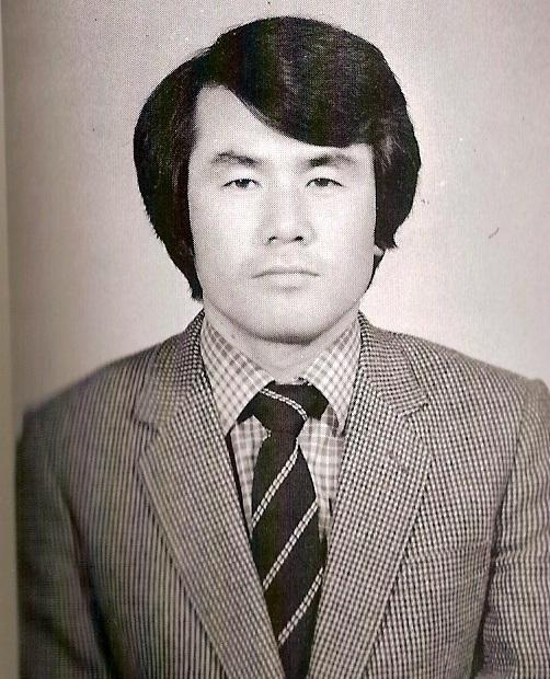 젊은 교사 시절의 김지철.