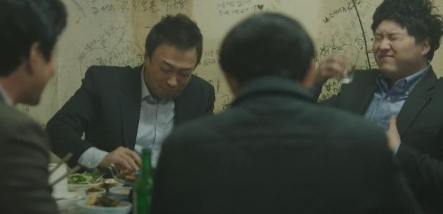 tvN 드라마 <미생> 중 한 장면.