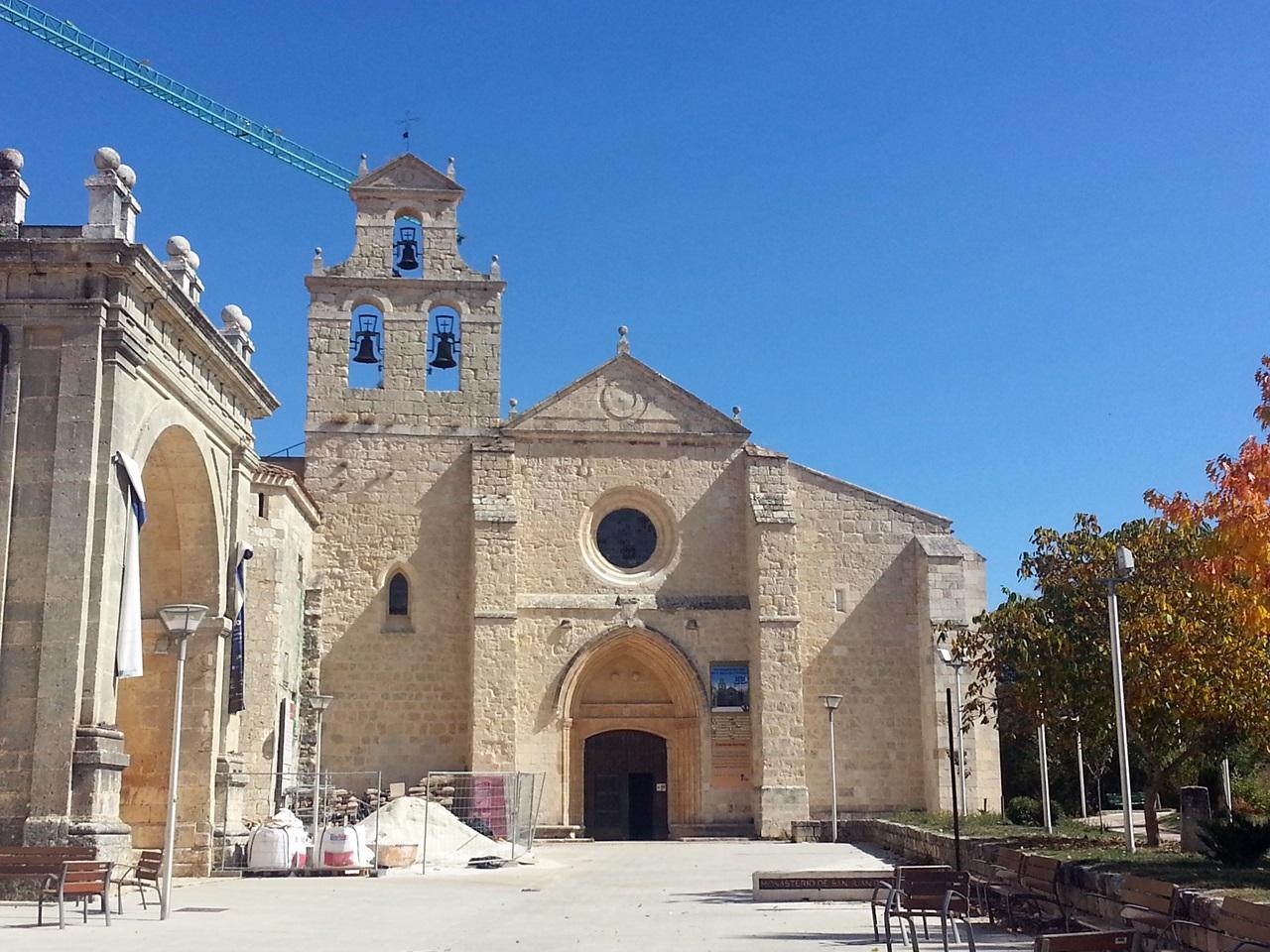 산후안 데 오르테가의 성당  12세기의 로마네스크 양식의 수도원이다
