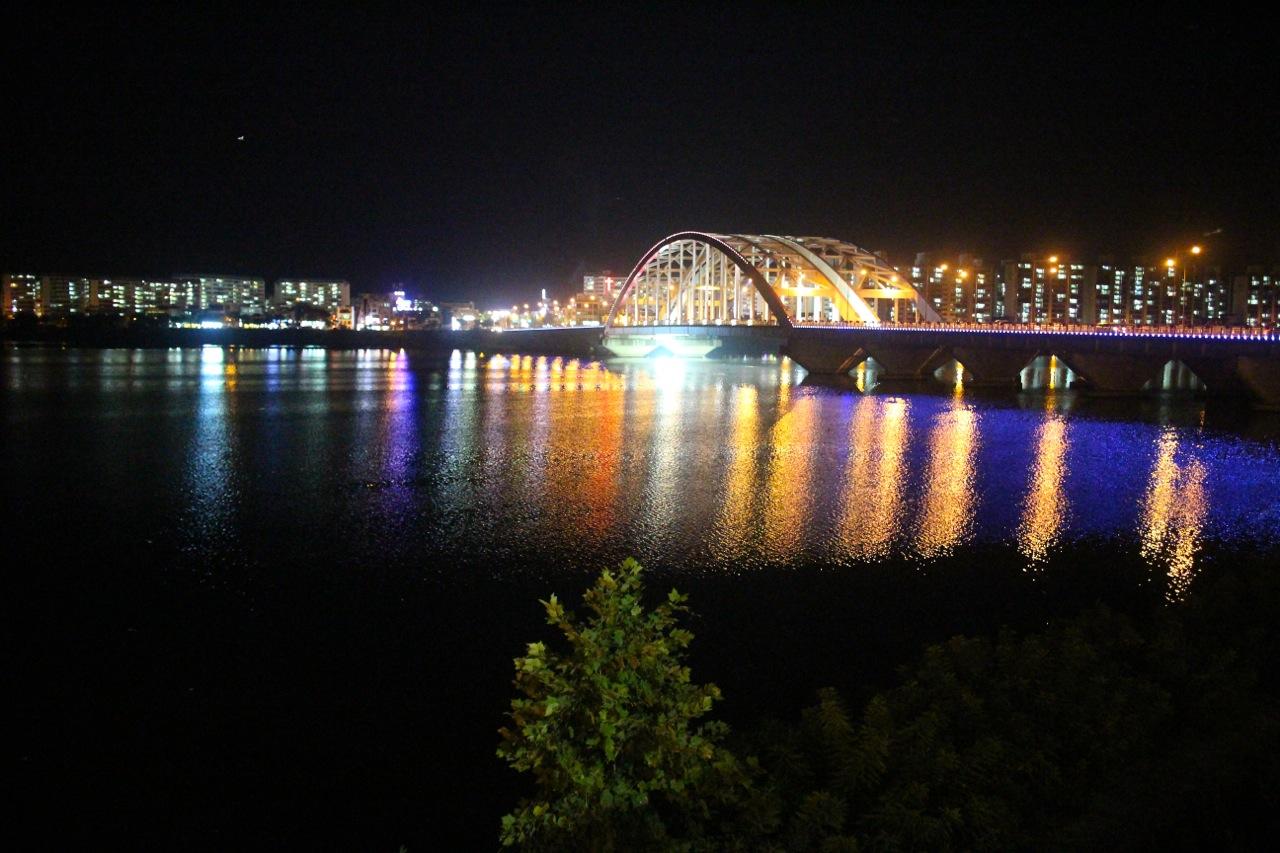 소양강의 밤