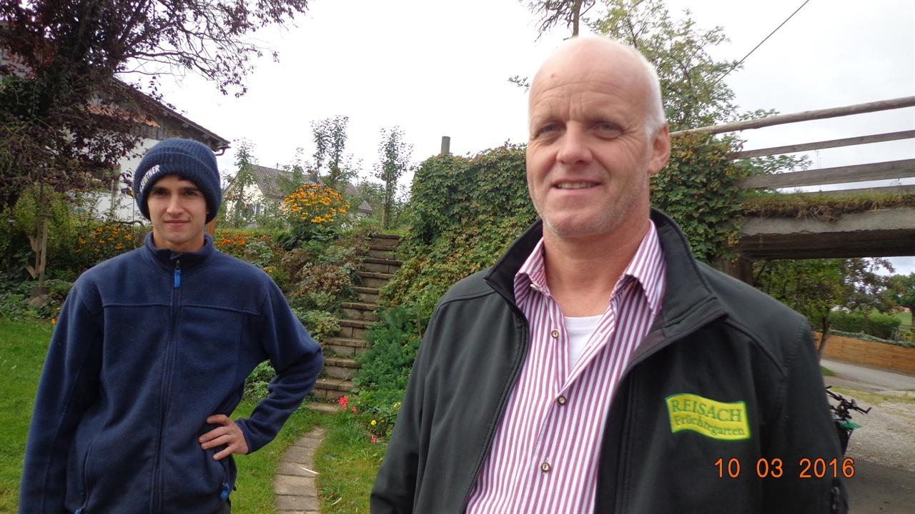 독일  독일 켐텐의 가족농 : 피너 니더탄너 농장주와 후계농 마틴
