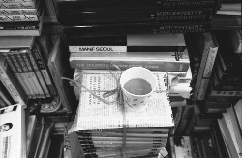 커피 한 잔.