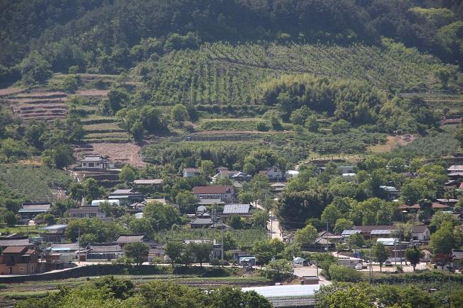 지리산 산촌 우리마을 풍경