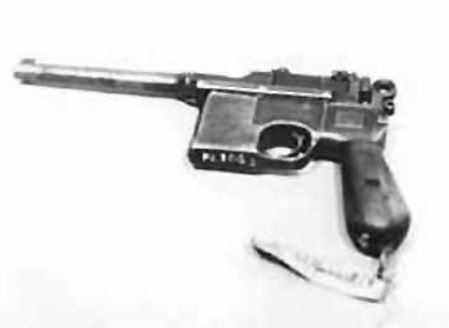 하얼빈 동북항일연군 기념관에 전시돼 있는 허형식의 권총