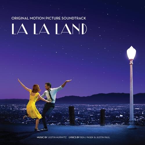 영화 <라라랜드> 오리지널 사운드 트랙 재킷