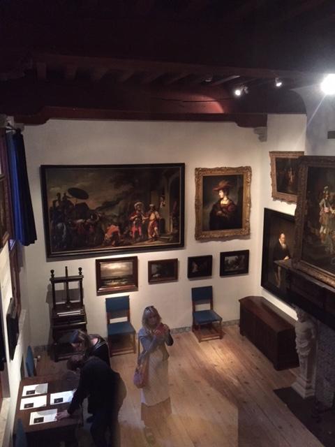 렘브란트의 집 박물관 내부