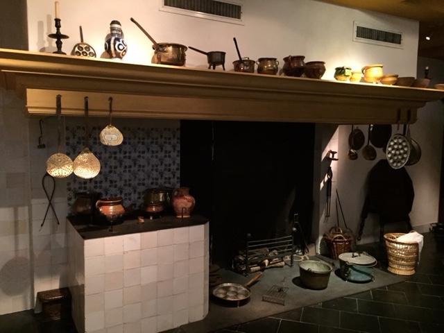 렘브란트의 집 박물관 주방