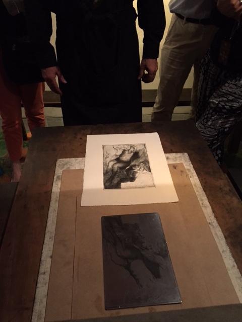 렘브란트의 집 박물관, 동판화 실습