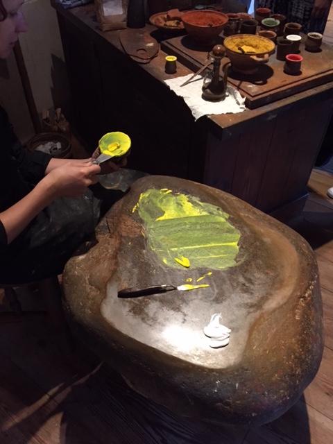 렘브란트의 집 박물관, 물감만들기