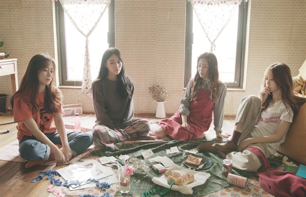 걸그룹 '하트'  12월 26일 데뷔한 '하트'의 티저 이미지.