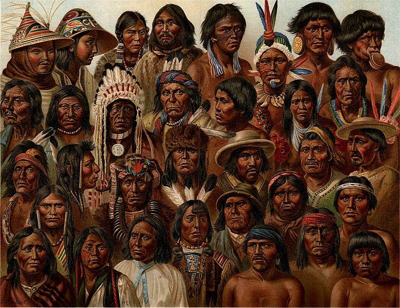 아메리카 원주민, 이른바 인디언.