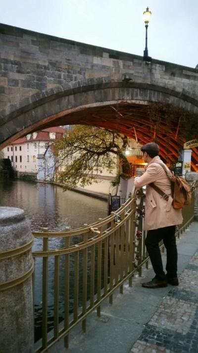 체코 프라하 구시가지에서.