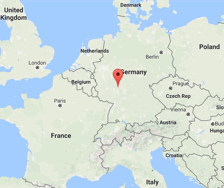 독일 프랑크푸르트.