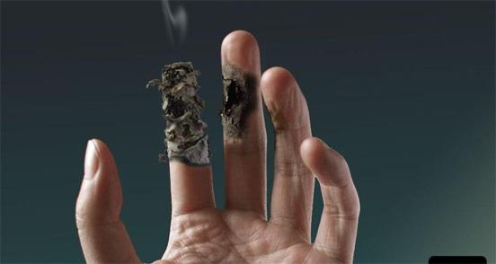 금연하려면 겁쟁이가 되세요. 흡연이 주는 공포, 자꾸자꾸 겁내세요