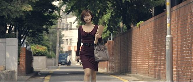 이수성 감독 영화 <전망좋은집>에 출연한 배우 곽현화씨.