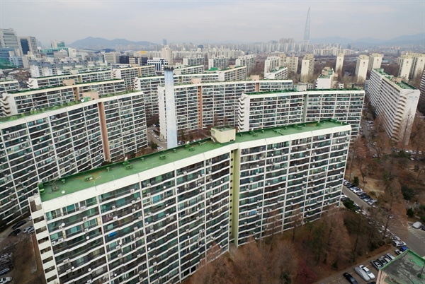 서울 강남구의 한 아파트 단지.