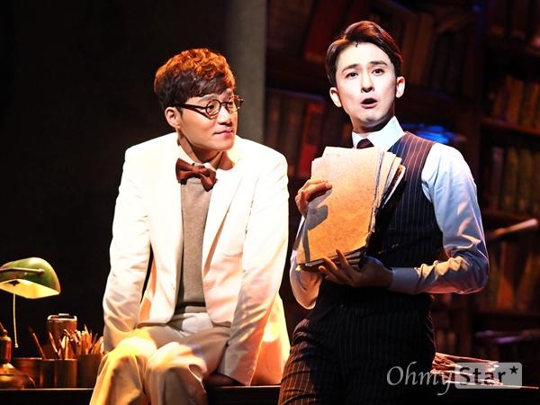 뮤지컬 <스토리 오브 마이 라이프> 프레스콜 지난 2016년 12월 6일, 서울 백암아트홀에서 뮤지컬 <스토리 오브 마이 라이프>의 프레스콜이 진행됐다. 두 남자의 우정을 그린 이 작품은, 매년 겨울마다 많은 팬을 설레게 하는 '힐링극'으로 평가 받는다.