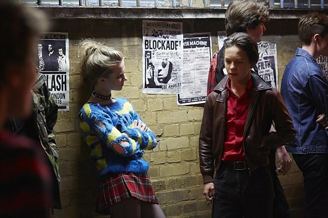 <런던 타운>의 한 장면. 사춘기 소년이 주인공이다.